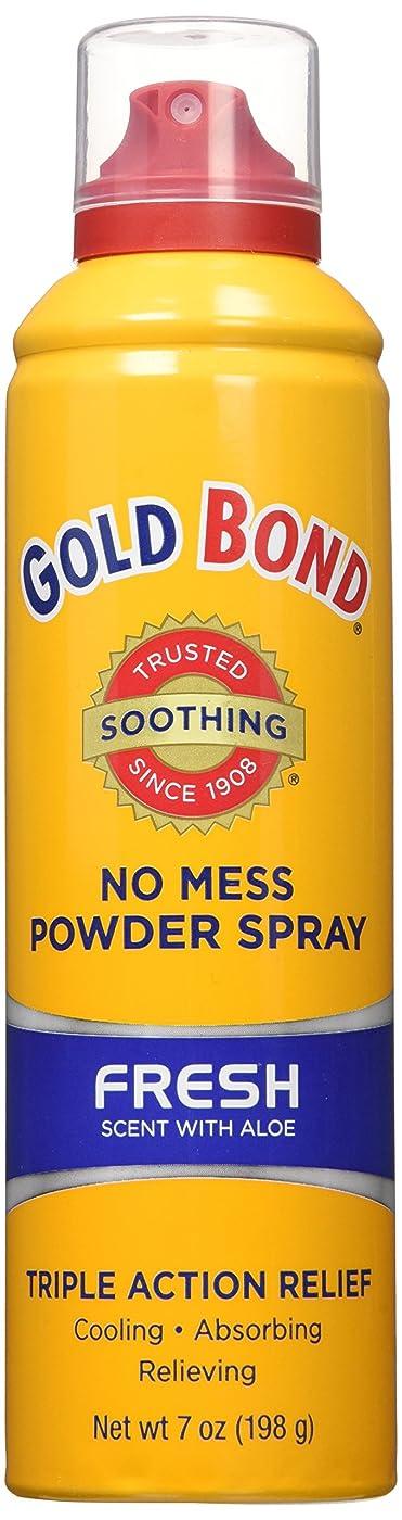 混乱させるイヤホンフクロウ海外直送品Gold Bond Gold Bond No Mess Powder Spray, Fresh Scent With Aloe 7 oz (Pack of 4)