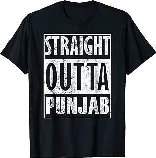Punjab Punjabi lovers Straight Outta Punjab Sardar T-Shirt