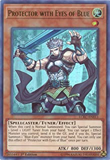 Yu-Gi-Oh! Protector with Eyes of Blue - LCKC-EN013 - Ultra Rare - 1st Edition - Legendary Collection Kaiba Mega Pack (1st ...