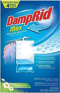 WM Barr Damp Rid Hanging Moisture Absorber Fresh Scent Bag 14 Oz 3 / Pack