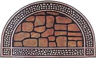 Front Door Mat Entrance Rug Floor Mats, Waterproof Floor Mat Shoes Scraper Doormat, 18''x29.5'' Patio Rug Dirt Debris Mud ...