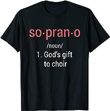 Soprano Definition Choir Singers Gifts T-Shirt