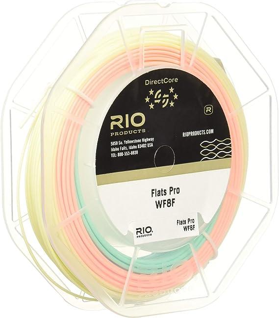 Rio Flats Pro Stealth Tip directcore WF12F//I Fly Line Clear Aqua Orange 6-20159