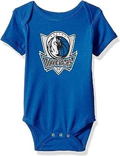 NBA Unisex-Baby Primary Logo Short Sleeve Bodysuit