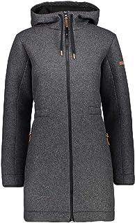 CMP Women's Parka Lungo Wooltech Jacket