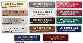 slide in name plates