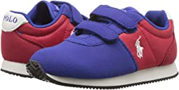 Royal/Red Microsuede