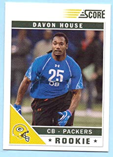 Davon House 2011 Score Glossy Rookie #327 - Green Bay Packers
