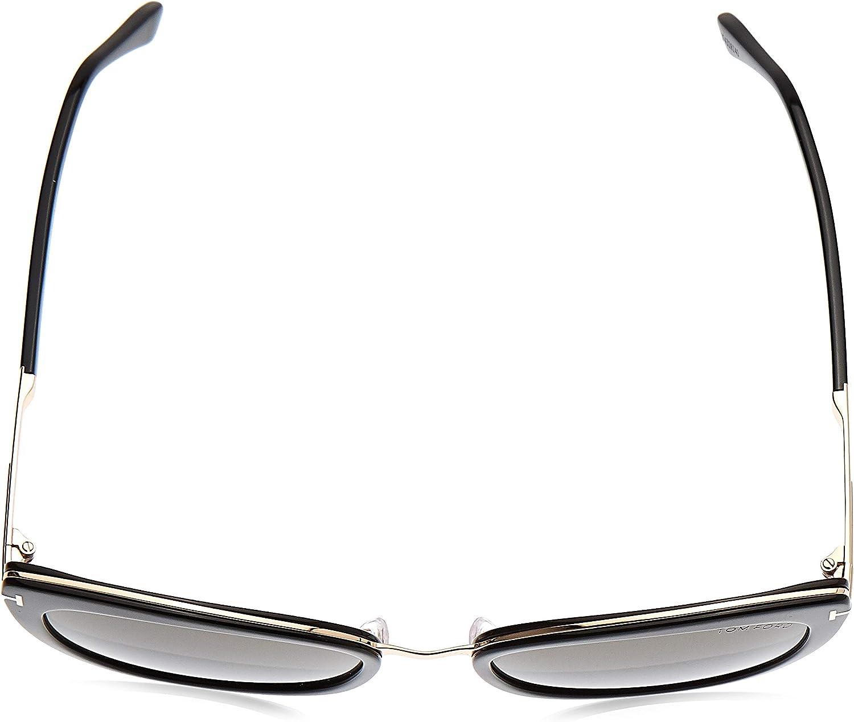 Tom Ford Sonnenbrille Simona (FT0717) Schwarz Glanz