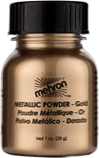 Mehron Makeup Metallic Powder (1 oz) (Gold)