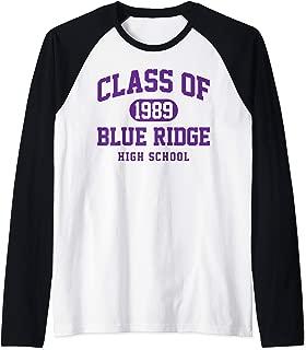 Blue Ridge High School Alumni Yellow Jackets Pinetop AZ Raglan Baseball Tee