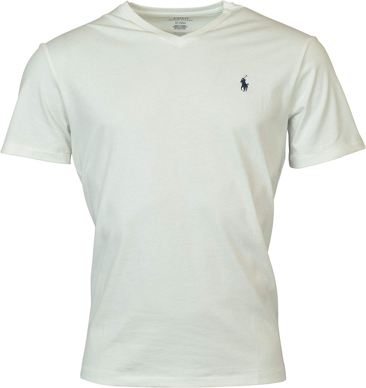 Polo RL Men's Standard Fit V-Neck Short Sleeve Shirt