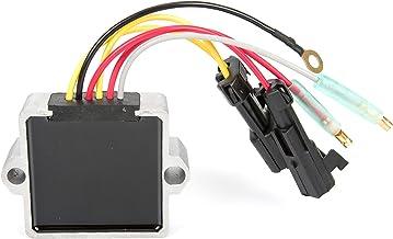 Voltage Regulator Rectifier (6 Wire) for Mercury Mariner Motors 25HP 30HP 40HP 50HP 60HP 135HP 140HP 150HP 175HP 200HP 240HP OEM Repl.# 883072T2, 854515T2, 893640-002, 883071T1