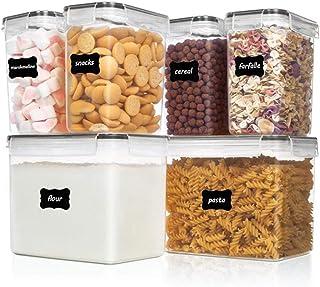 BBGSFDC Ensemble de conteneurs de Stockage de Nourriture - Cuisine Pantry Organisation Conteneurs - Cuisine de Cuisine en ...