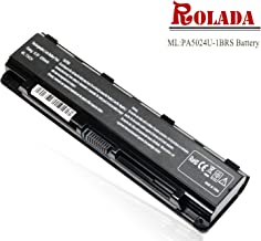 PABAS260 New Laptop Battery for Toshiba Satellite C55 C55Dt C55-A5300 C55Dt-A5241 C55t-A5222 C55-A5245;P/N: PA5024U-1BRS PA5109U-1BRS PA5024U-1BRS PA5027U-1BRS PABAS263 A5023U-1BRS
