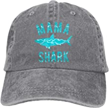 Louise Morrison Cute Mama Shark Classic Unisex Baseball Cap Adjustable Washed Dyed Cotton Ball Hat