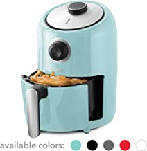Dash (DCAF150GBAQ02) Compact Air Fryer Oven Cooker with Temperature Control, Non Stick Fry Basket, Recipe Guide + Auto Shut off Feature, 1.2 qt, Aqua