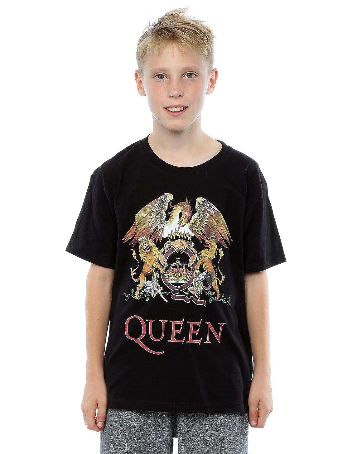 Queen Boys Crest Logo T-Shirt