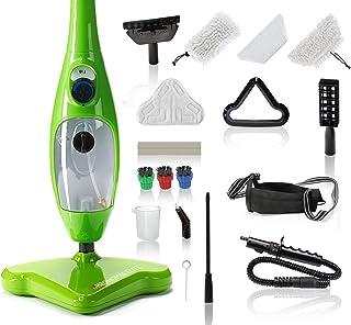 H2O Mop X5 Elite - 5 در 1 بخارپز بخار برای کف ، موکت ، بخار دستی ، پنجره ، آینه و تمیز کننده شیشه و بخارپز همه در یک!