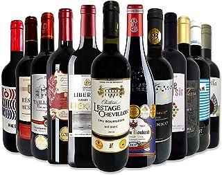 赤ワインセット 750ml 12本セット フルボディ 金賞 フランス イタリア スペイン 京橋ワイン