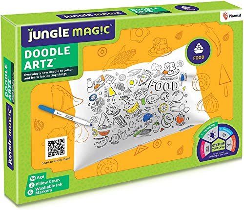 Jungle Magic Doodle Artz Food