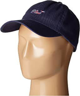 Vineyard Vines - Whale Flag Baseball Hat