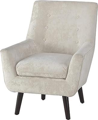Amazon Com Dymas Modern Acrylic Arms Chair Kitchen Amp Dining