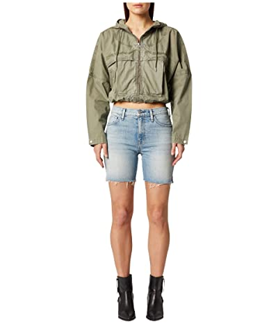 Hudson Jeans Hana Mini Biker Shorts in Foxy (Foxy) Women