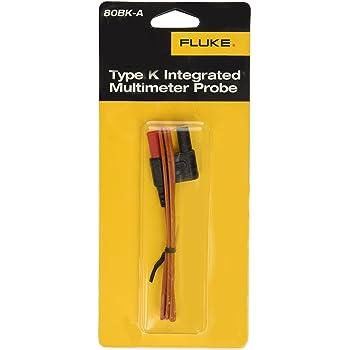 Fluke 80BK-A type K Multimètre Thermocouple Température Intégré sonde Câble