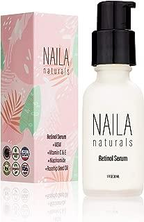 Advanced Retinol Serum - Hydrating Anti Aging Face Serum And Retinol Firming Serum - 87% ORGANIC ingredients - Collagen Retinol Serum - All Natural Skin Care - Made in USA