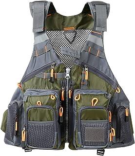 Lixada Fly Fishing Vest Breathable Padded Superior 209lb Bearing Life Safety Jacket