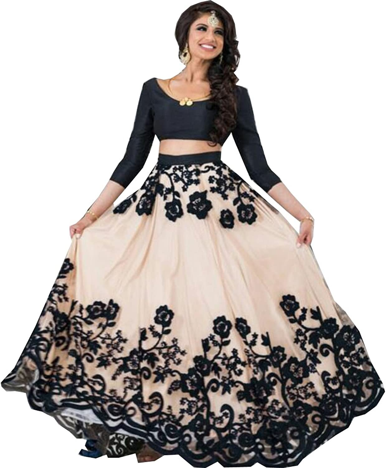 Amit Fashions Indian Designer Lehangha Choli For Women