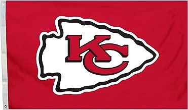 NFL Kansas City Chiefs 3 x 5-Feet Flag with Grommets