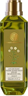 Forest Essentials Ayurvedic Herb Enriched Head Japapatti Massage Oil, 200ml