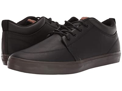 Globe GS Chukka (Black Leather/Chocolate) Men