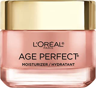 Face Moisturizer by L'Oreal Paris Skin Care, Age Perfect Cell Renewal Rosy Tone Face..