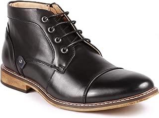 Metrocharm MC146 Men's Cap Toe Formal Dress Casual Oxford Ankle Boot
