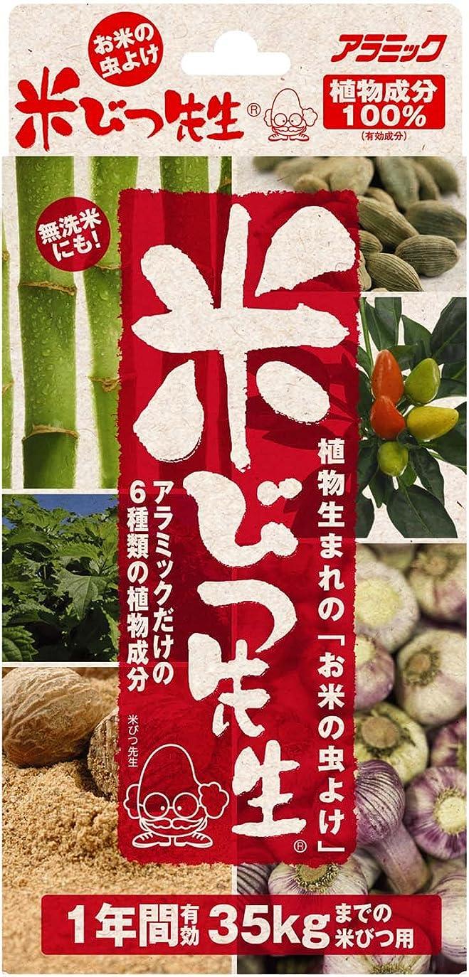 ほこりっぽいヒュームマチュピチュアラミック 米びつ先生(1年用) 35kg対応 日本製 お米の虫よけ KS-48N
