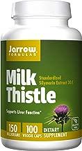 Jarrow Formulas Milk Thistle, Promotes Liver Health, 150 mg Caps, 100 Count