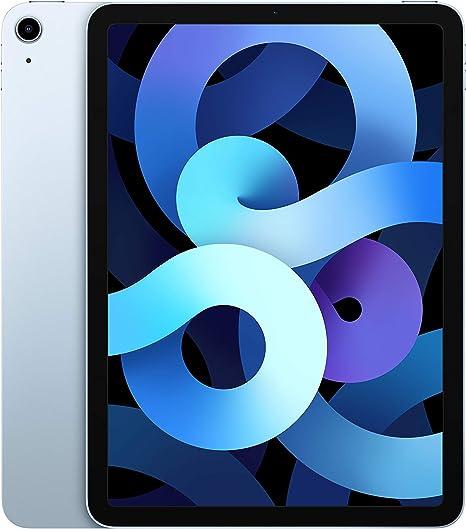-2020 Apple iPadAir (10,9‑inch, Wi-Fi, 64GB) - Hemelsblauw (4egeneratie)-aanbieding