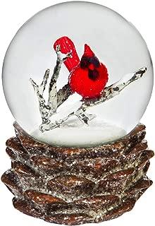 cottage snow globe