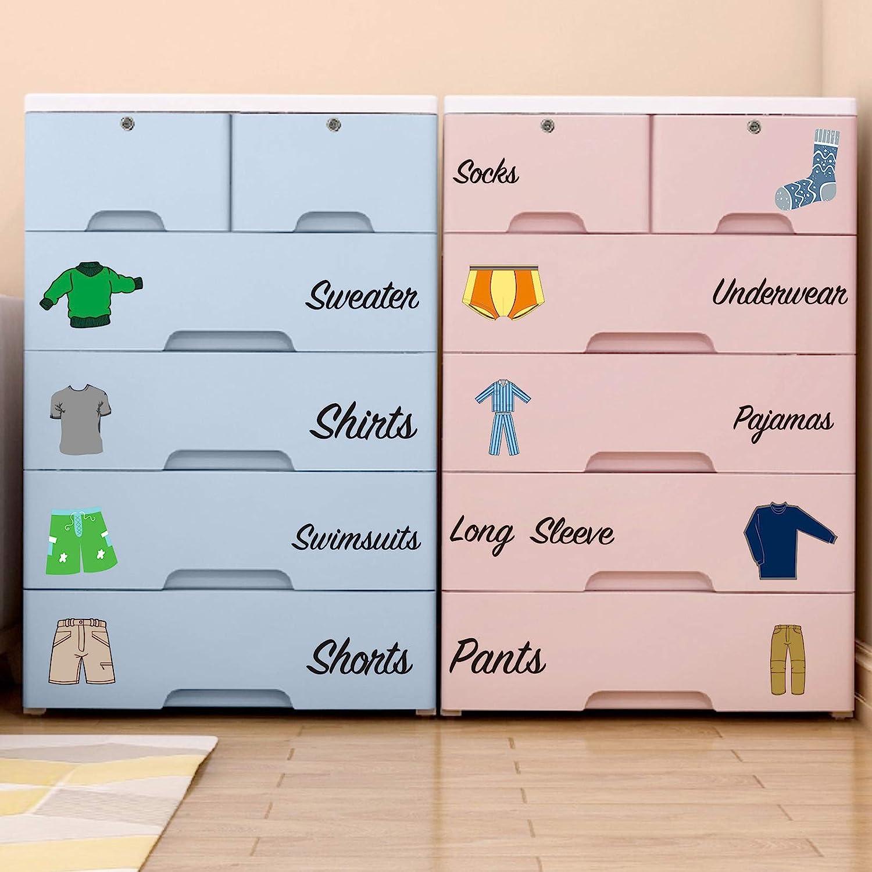 List price Boy Decals Dresser 5% OFF Clothing Dr Labels Kids