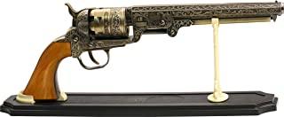 BladesUSA Revolver ocidental decorativo SMB-110 com suporte para exibição, 33 cm no geral