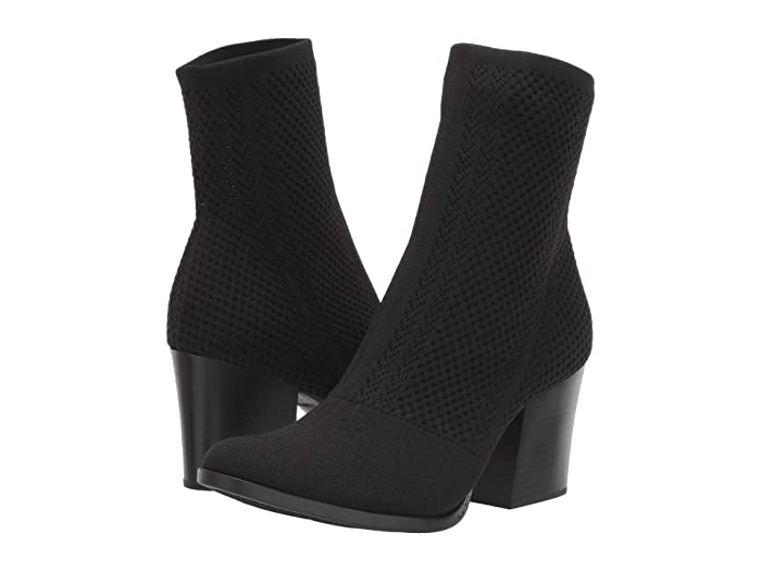 Born  Meggs Too (Black Knit Fabric) Womens  Boots