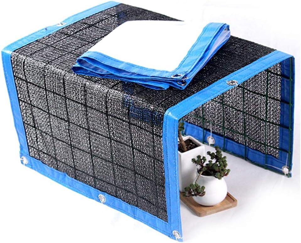 3 * 3M, A2-Clear Xueliee Tarpaulin Waterproof Heavy Duty-Plant Canopy Shade Cloth Rainproof Cover Sunblock Balcony Sun Shade Net for Succulents Flowers