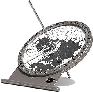 VOSAREA Equatorial Sundial Clock DIY Teaching Aid Desktop Ornament for Students Kids Children Boys