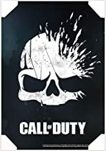Call of Duty Poster Wall Art Set -- Mounted Call of Duty Skull Print (8