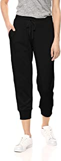 Amazon Essentials Women's Studio Terry Capri Jogger Pant