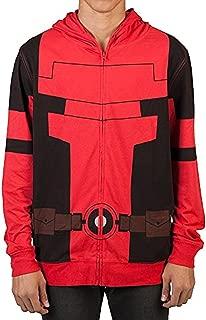 Deadpool Mens Cosplay Costume Hoodie