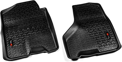 Rugged Ridge All-Terrain 82903.04 Black Front Row Floor Liner For Select Dodge Ram, Ram 1500, 2500 and 3500 Models